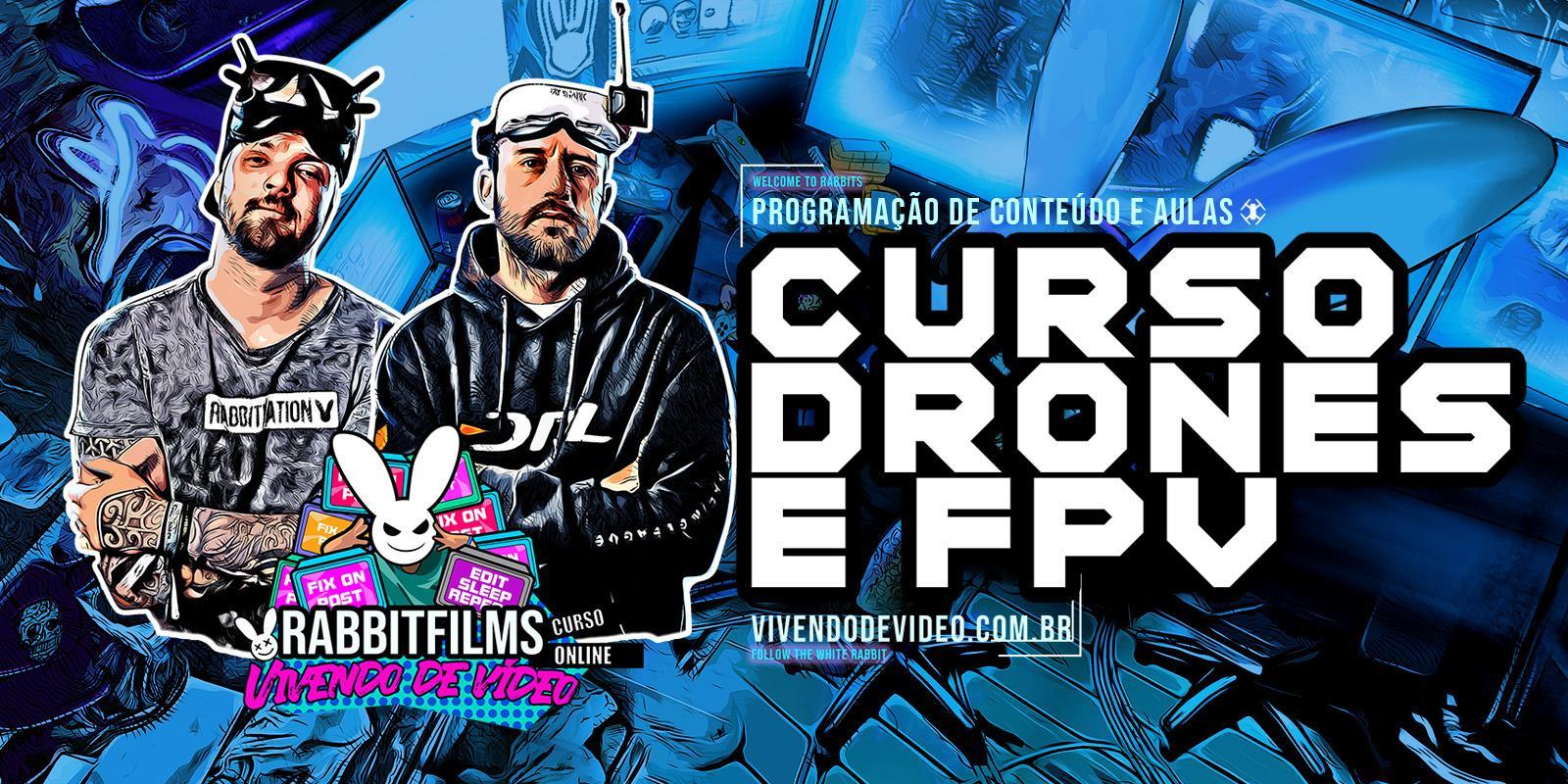 CURSO DRONES E FPV
